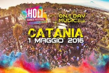 ONE DAY MUSIC FESTIVAL 2016, CATANIA 1 MAGGIO