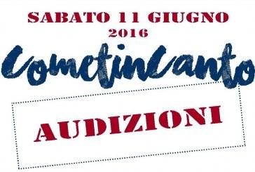 CometinCanto – Audizioni 11 giugno 2016
