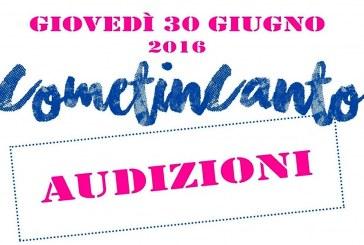 CometinCanto – Audizioni 30 giugno 2016