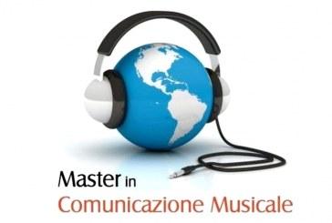 MASTER IN COMUNICAZIONE MUSICALE 2016