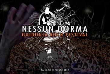 NESSUN DORMA – GUIDONIA ROCK FESTIVAL