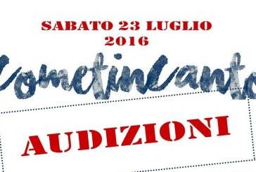 CometinCanto – Audizioni 23 luglio 2016