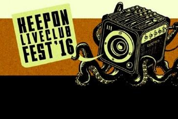 KEEPON LIVE CLUB FEST 2016