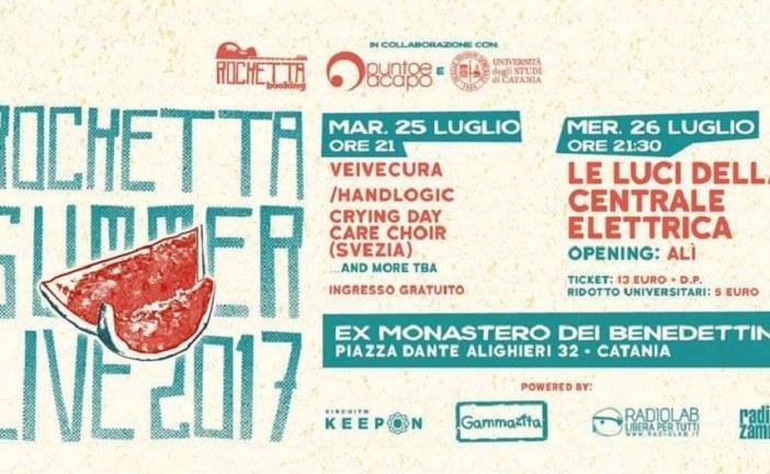 ROCKETTA SUMMER LIVE 2017, AL VIA IL FESTIVAL DELLA MUSICA INDIPENDENTE!