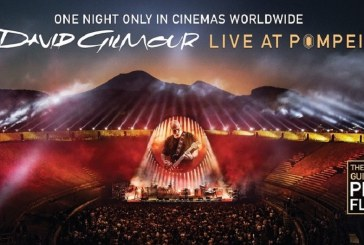 DAVID GILMOUR LIVE AT POMPEII, MITICO!