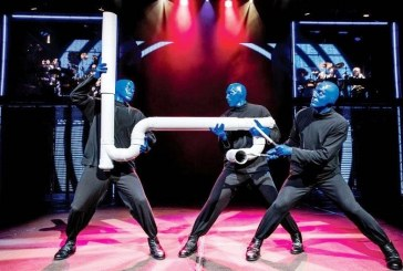 BLUE MAN GROUP, LO SHOW PIÙ ENTUSIASMANTE DELL'ANNO!
